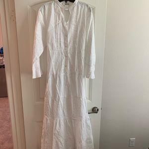 Dressed In White LDS Temple dress maxi